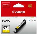 Canon CLI571 tintapatron sárga (eredeti)
