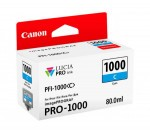 Canon PFI-1000 tintapatron ciánkék (eredeti)