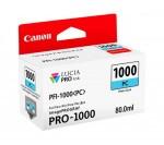 Canon PFI-1000 tintapatron fotó ciánkék (eredeti)