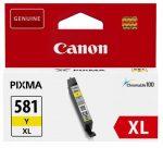 Canon CLI-581 XL tintapatron sárga (eredeti)