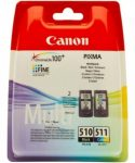 Canon PG510 + CL511 multipack (eredeti)