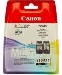 Canon PG510 + CL511 multipack (eredeti)