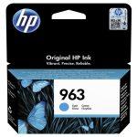 HP 3JA23AE / 963 tintapatron ciánkék (eredeti)