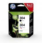 HP 3JB05AE / 304 tintapatron multipack (eredeti)