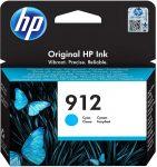 HP 3YL77AE / 912 tintapatron ciánkék (eredeti)