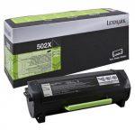 Lexmark 50F2X00 (502X) toner, 10K (eredeti)  MS410