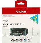 Canon PGI72 fotó BK/GY/PM/PC/CO multipack (eredeti)