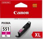 Canon CLI551XL tintapatron magenta (eredeti)