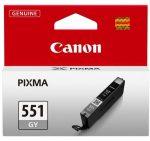 Canon CLI551 tintapatron szürke (eredeti)