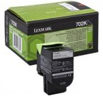 Lexmark 702K toner fekete (eredeti)  70C20K0