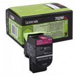 Lexmark 702M toner magenta (eredeti)  70C20M0
