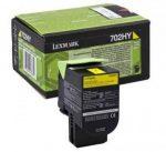 Lexmark 70C2HY0 (702HY) toner sárgaight  3K(eredeti) CS310/410