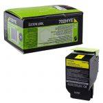 Lexmark 70x sárga toner High Corporate(eredeti)70C2HYE