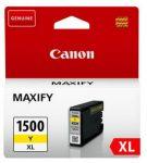Canon PGI1500XL tintapatron sárga (eredeti)