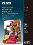Epson A/4 Gazdaságos Fényes Fotópapír 50 Lapos 183g