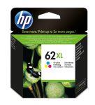 HP C2P07AE / 62XL tintapatron színes (eredeti)