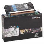 Lexmark C5340CX toner ciánkék (eredeti)