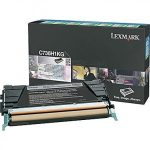 Lexmark C736H1KG nagykapacítású toner fekete (eredeti)