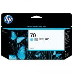 HP C9390A tintapatron light ciánkék No.70 (eredeti)