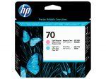 HP C9405A nyomtatófej light magenta/ciánkék No.70 (eredeti)