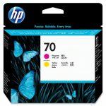 HP C9406A nyomtatófej magenta/sárga No.70 (eredeti)