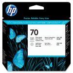 HP C9407A nyomtatófej fotófekete/light Gr No.70 (eredeti)