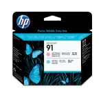 HP C9462A P.he. light magenta.&light ciánkék No.91 (eredeti)
