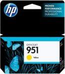 HP CN052AE tintapatron sárga No.951 (eredeti)
