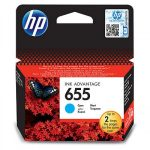 HP CZ110AE tintapatron ciánkék No.655 (eredeti)