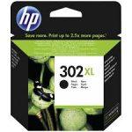 HP F6U68AE tintapatron fekete No.302XL (eredeti)