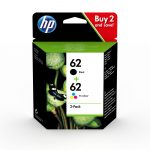 HP N9J71AE / 62 tintapatron 2 pack (eredeti)