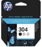 HP N9K06AE tintapatron fekete No.304 (eredeti)