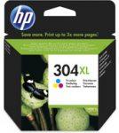 HP N9K07AE tintapatron színes No.304XL (eredeti)