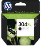 HP N9K08AE tintapatron fekete No.304XL (eredeti)