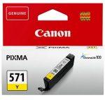 Canon CLI-571 sárga tintapatron (eredeti)