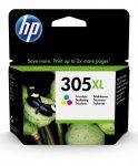 HP 3YM63AE / 305XL színes tintapatron (eredeti)