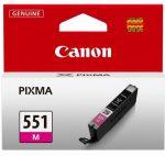 Canon CLI551 tintapatron magenta (eredeti)