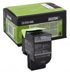Lexmark 802SK fekete toner; 2,5K (eredeti)  80C2SK0