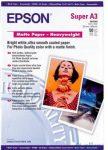 Epson A/3 Vastag matt Papír 50Lap 167g (eredeti)