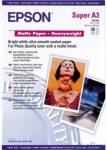 Epson A/3+ matt Papír 50Lap 167g (eredeti)