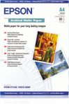 Epson A/4 Archival matt Papír 50Lap 192g (eredeti)