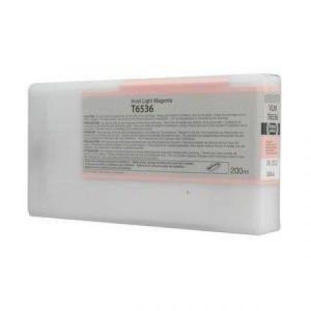 Epson T6536 tintapatron light magenta 200ml (eredeti)
