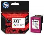 HP C2P11AE / 651 színes tintapatron (eredeti)