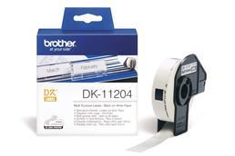 Brother DK-11204 etikett (eredeti)