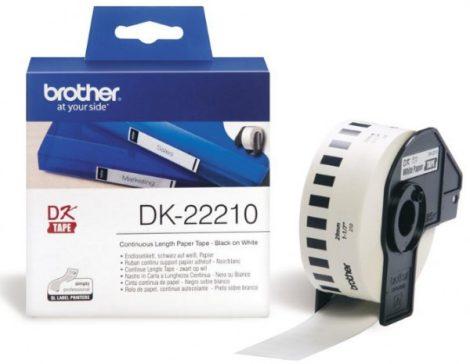 Brother DK-22210 papírszalag (eredeti)