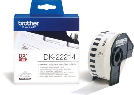 Brother DK-22214 papírszalag (eredeti)