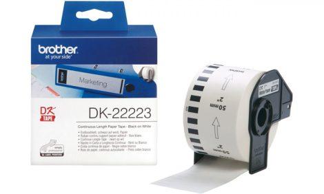Brother DK-22223 papírszalag (eredeti)