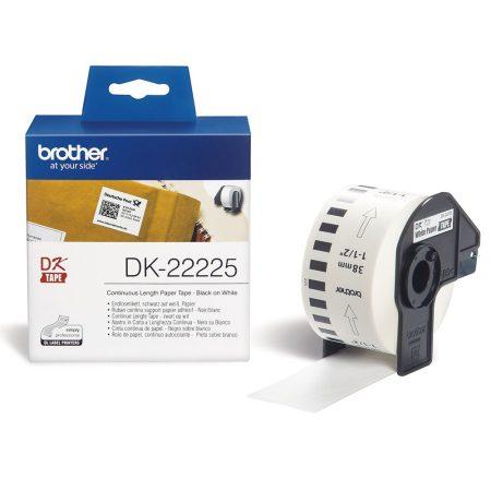 Brother DK-22225 papírszalag (eredeti)