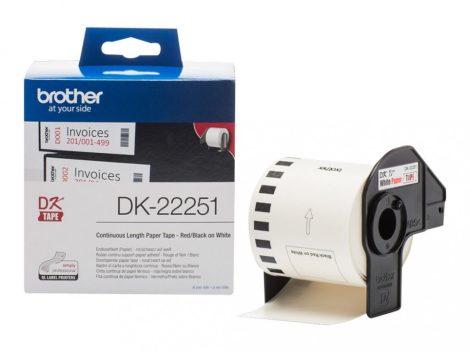 Brother DK-22251 papírszalag (eredeti)