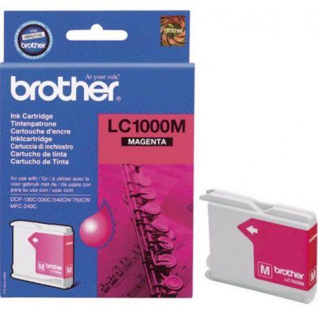 Brother LC1000M tintapatron magenta (eredeti)